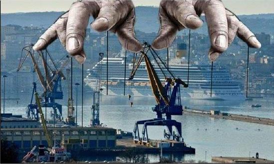 Συγκέντρωση ενάντια στην επέκταση του λιμανιού στον Πειραιά