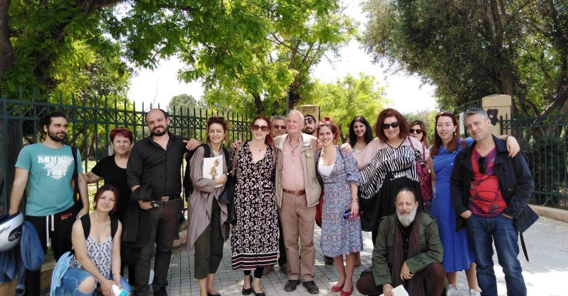 Περίπατος στην αρχαία γειτονιά του Κολωνού και την Ακαδημία Πλάτωνος (11/5/2019)