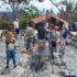 Επίσκεψη στις πληγείσες από τις πυρκαγιές περιοχές της Β. Εύβοιας
